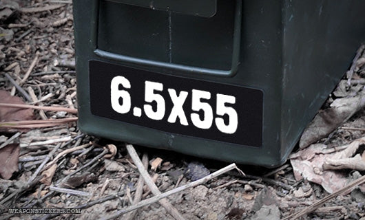 Ammo Label: 6.5x55