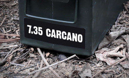 Ammo Label: 7.35 Carcano