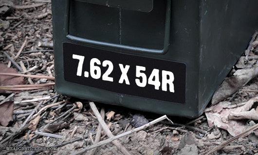 Ammo Label: 7.62x54R