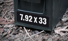 Ammo Label: 7.92x33