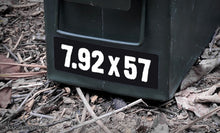 Ammo Label: 7.92x57