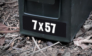 Ammo Label: 7x57