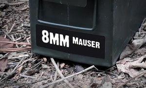 Ammo Label: 8mm Mauser