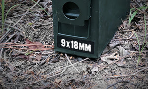 Ammo Label: 9x18mm