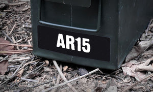 Ammo Label: AR15