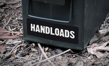 Ammo Label: Handloads
