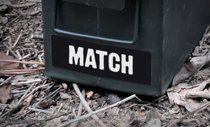Ammo Label: Match