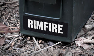Ammo Label: Rimfire