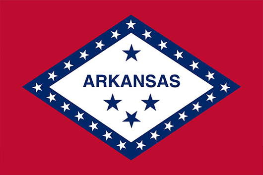Arkansas State Flag Sticker