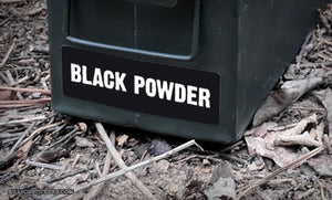 Ammo Label: Black Powder