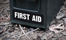 Ammo Label: First Aid