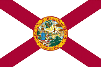 Florida State Flag Sticker