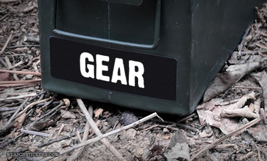 Ammo Label: Gear
