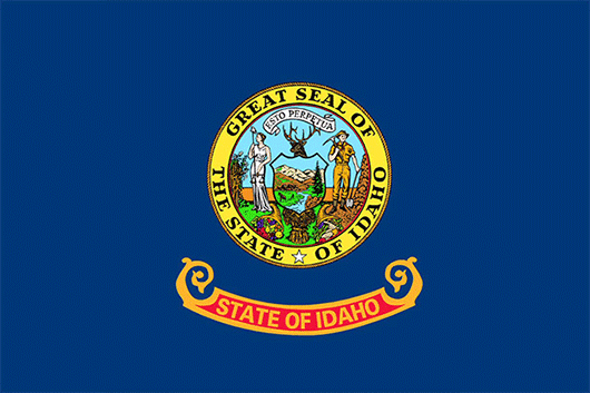 Idaho State Flag Sticker