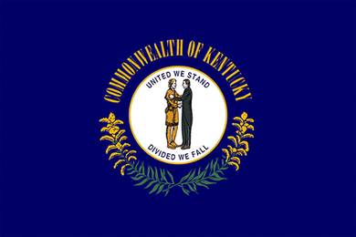 Kentucky State Flag Sticker