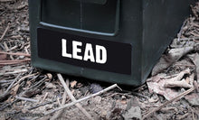 Ammo Label: Lead