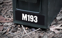 Ammo Label: M193