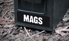 Ammo Label: MAGS