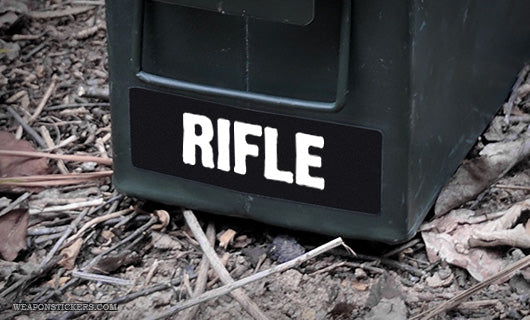 Ammo Label: RIFLE