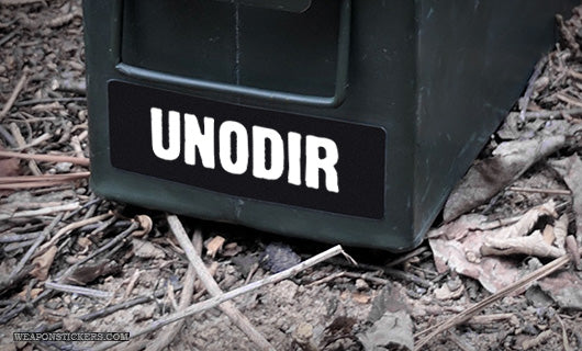 Ammo Label: UNODIR