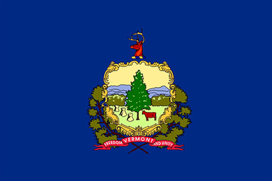 Vermont State Flag Sticker