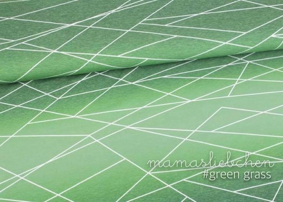 Shapelines Gradient Green Grass Cotton Lycra