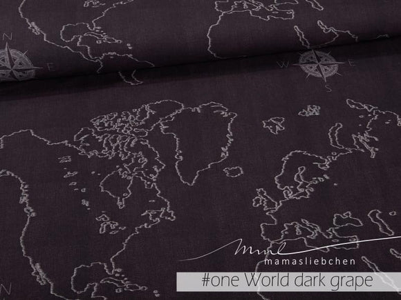 One World Dark Grape Summersweat Rapport