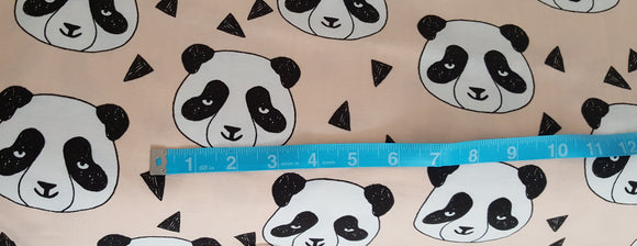 Panda Pale Peach Cotton Lycra
