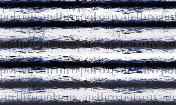 Sea Stripe Cotton Lycra