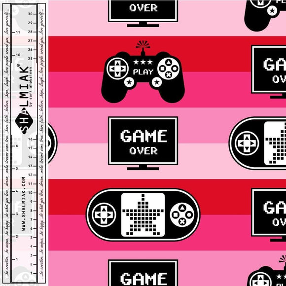 Game Over Pink