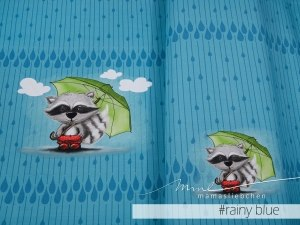 Bo Rainy Blue Summersweat Panel
