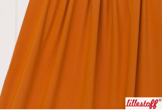 Orange Cotton Lycra