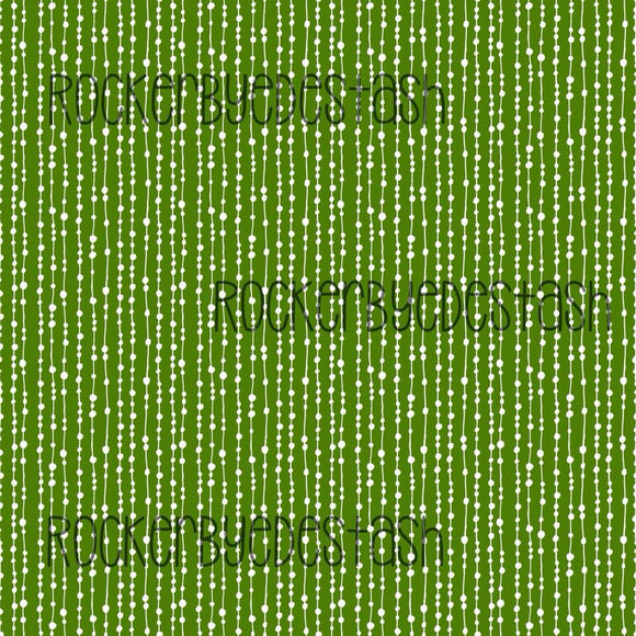 Green Dots Cotton Lycra
