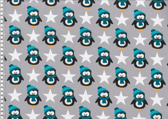 Penguins Teal