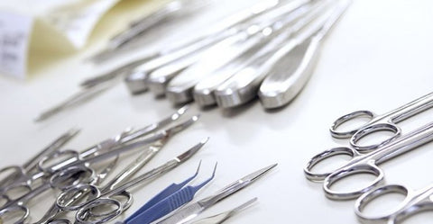 Range of Critical, Semi-Critical medical instruments for reprocessing
