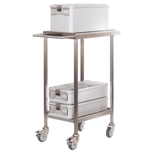 Double Door Transport Trolley set : Cliniclave 45D