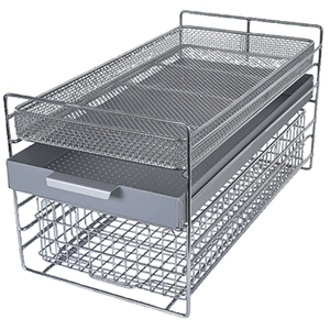 Insert frame for 4 trays or 2 baskets C45 & C45M