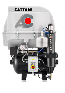 Cattani Quiet Single Cylinder Compressor - 30L