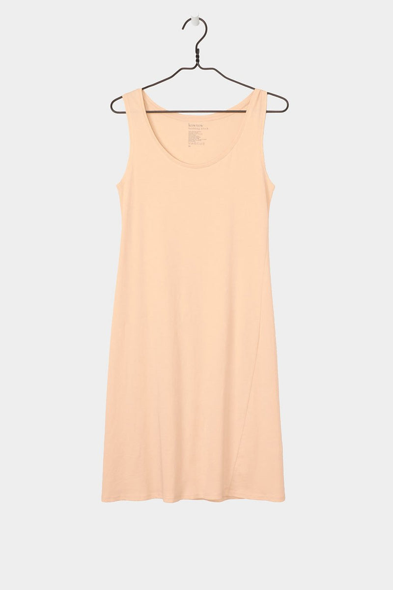 Building Block Singlet Dress, Sand