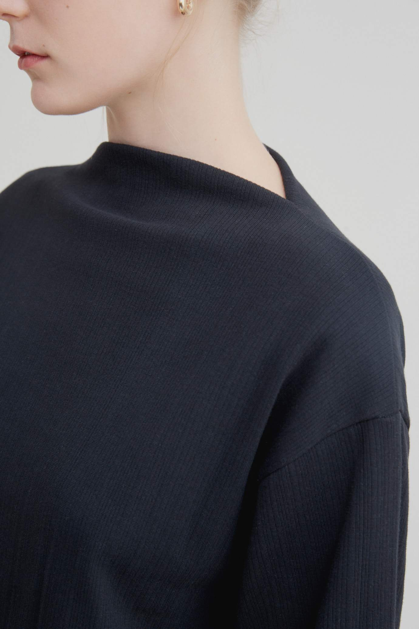 Funnel Neck Top