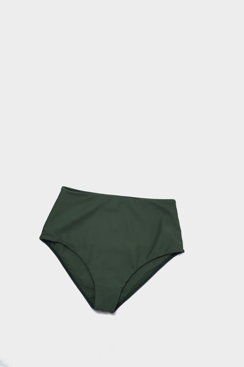 High Waisted Brief, Ivy