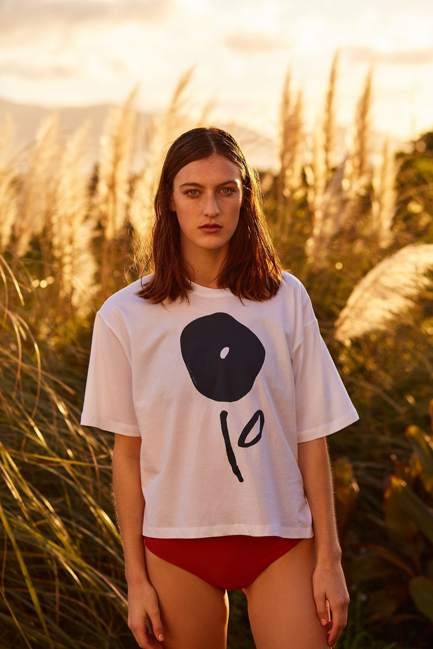 Kowtow x Mirador Tee, Bloom