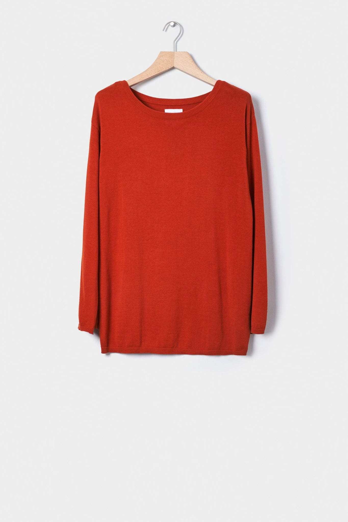 Light Lakeside Sweater, Burnt Orange