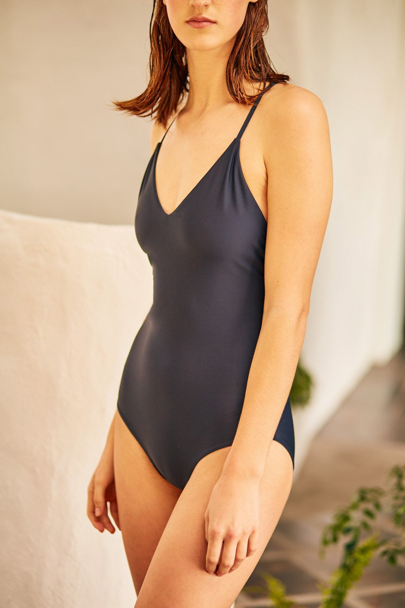 Tie Back One Piece, Midnight