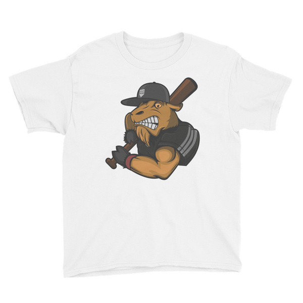 Mighty Goat Logo Youth Short Sleeve T-Shirt