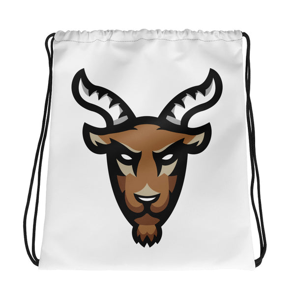 Mighty Goat Drawstring bag