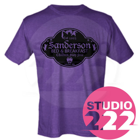 Sanderson Bed and Breakfast T-shirt