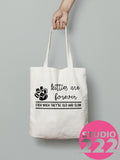 """Pets are Forever"" Tote"