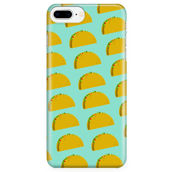 Tacos Are Life Taco Patterned Iphone Case