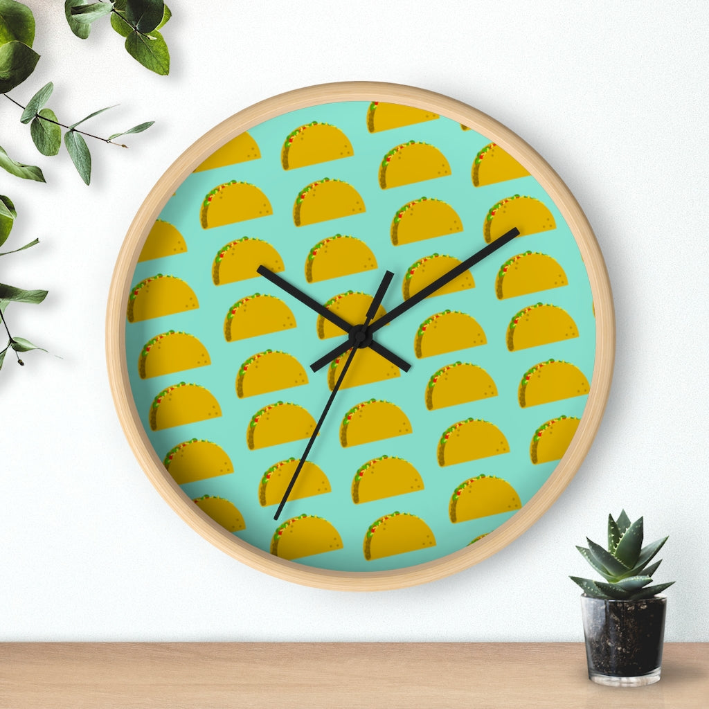 Taco Time Wall clock